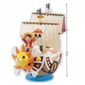 ONE PIECE - MEGA WORLD COLLECTABLE FIGURE SPECIAL!! LUFFY & THOUSAND SUNNY