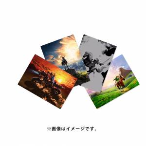 The Legend of Zelda - A4 Clear File (4 pieces set) Limited Edition [GOODS]