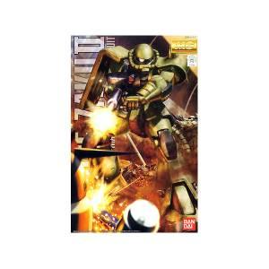 Gundam 0079 - MS-06F Zaku II Ver.2.0 Plastic Model [1/100 MG / Bandai]