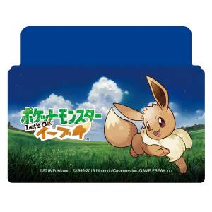 Nintendo Switch Cover / Stand Pokemon Let's Go! Eevee [Switch]