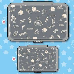 Kirby - Compact Pouch for Nintendo Switch Gray Ver. [Switch]