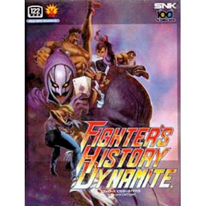 Fighters History Dynamite / Karnov's Revenge [NG AES - Used Good Condition]