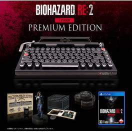 Resident Evil 2 / BIOHAZARD RE: 2 Z Version - e-Capcom Premium Edition x Qwerkywriter S LEXINGTON Inc. Vintage Typewriter [PS4]