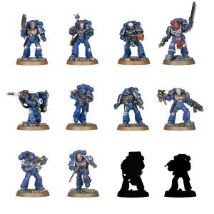 Warhammer 40,000 Space Marine Heroes Series 1 24 Pack BOX Reissue [MAX Factory]