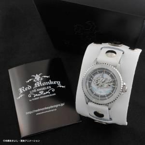 Digimon Adventure tri. OMEGAMON:MERCIFULMODE × Red Monkey Designs Wristwatch [Goods]