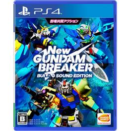 New Gundam Breaker - Build G Sound Edition [PS4 - Used Good Condition]
