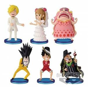 ONE PIECE WORLD COLLECTIBLE FIGURE - CAKE ISLAND 2 (set of 6) [Banpresto]
