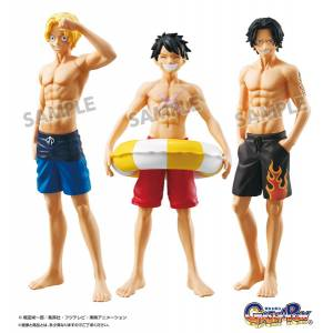 Gasha Portraits From TV animation ONE PIECE 02 9 Pack BOX [Bandai]