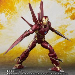 Avengers: Infinity Wars - Iron Man Mk-50 Nano Weapon Set Limited Edition [SH Figuarts]