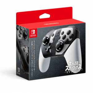 Nintendo Switch Pro Controller Super Smash Brothers SPECIAL Edition [Switch]