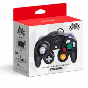 Nintendo GameCube Controller Super Smash Brothers SPECIAL Black Edition [Switch]