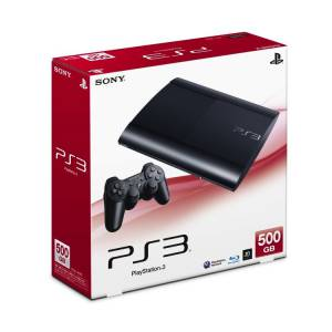 PlayStation 3 Super Slim 500GB Charcoal Black [occasion]