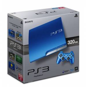 PlayStation 3 Slim 320GB Splash Blue [occasion]