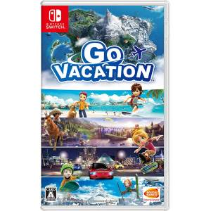 GO VACATION - Standard Edition (Multi Language) [Switch]