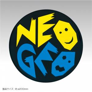 NeoGeo BIG Rubber Coaster [SNK / Goods]