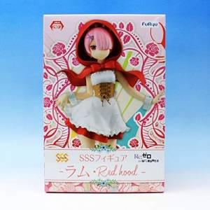 RE:ZERO -STARTING LIFE IN ANOTHER WORLD- SSS FIGURE RAM RED HOOD [FuRyu]