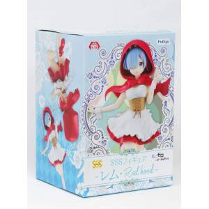 RE:ZERO -STARTING LIFE IN ANOTHER WORLD- SSS FIGURE REM RED HOOD [FuRyu]