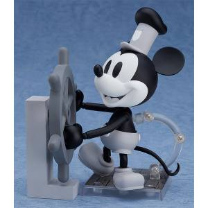 Steamboat Willie Mickey Mouse 1928 Ver. (Black & White) [Nendoroid 1010a]