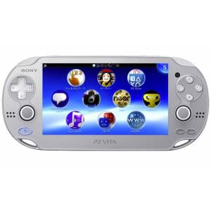 PlayStation Vita Ice Silver (Wi-Fi) [Brand New]