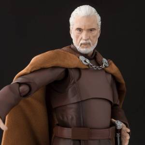 FREE SHIPPING - Star Wars Episode 3 Revenge of the Sith - Count Dooku Limited Edition [SH Figuarts]