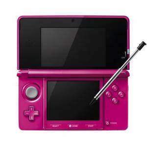 Nintendo 3DS - Gloss Pink [brand new]