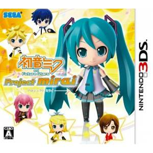 Hatsune Miku & Future Stars - Project Mirai [3DS - Used Good Condition]