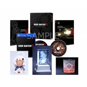 God Eater 3 - Famitsu DX Pack 3D Crystal Set Limited Edition [PS4]