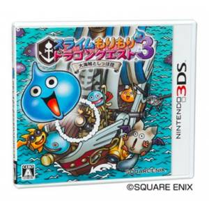 Slime Mori Mori Dragon Quest 3 - Taikaizoku to Shippo Dan [3DS - Used Good Condition]