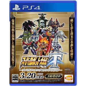 FREE SHIPPING - Super Robot War T Premium Anime Song & Sound Edition [PS4]