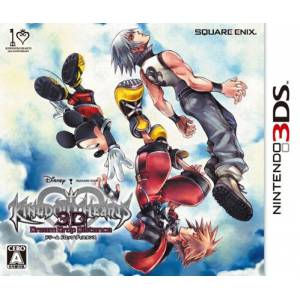 Kingdom Hearts 3D - Dream Drop Distance [3DS - Used Good Condition]