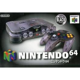 Nintendo 64 Clear Black [Used Good Condition]
