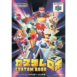 Custom Robo [N64 - used good condition]