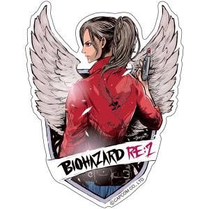 CAPCOM x B-SIDE LABEL Sticker - BioHazard / Resident Evil RE:2 Claire [Goods]