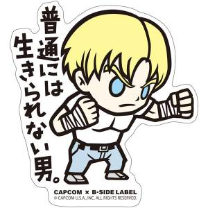 CAPCOM x B-SIDE LABEL Sticker - Final Fight Cody [Goods]