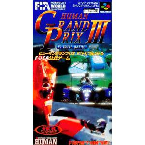 Human Grand Prix 3 / F1 Pole Position 3 [SFC - Used Good Condition]