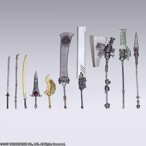 Nier Automata Trading Weapon Collection 10 Pack BOX [BRING ARTS / Square Enix]