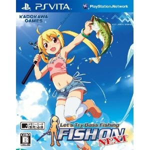Let's Try Bass Fishing - Fish On Next [PSVita - Used Good Condition]