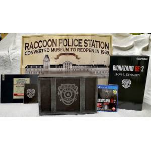 FREE SHIPPING - Resident Evil 2 / BIOHAZARD RE: 2 Z Version - COLLECTOR'S EDITION (Multi Language) [PS4]