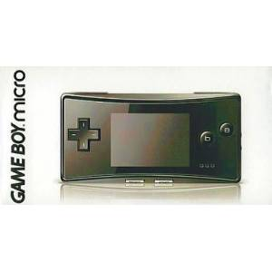 Game Boy Micro Black [GBA - occasion BE]
