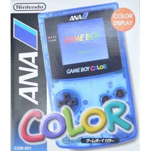 Game Boy Color Clear Blue ANA Version [GBC - occasion BE]