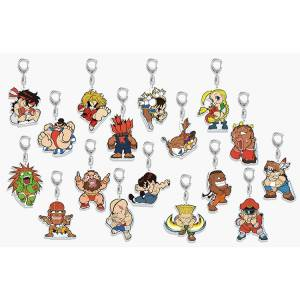 Street Fighter Acrylic Key Holder 17 pieces set Limited Edition [Goods]