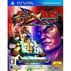 Street Fighter X Tekken [PSVita - Used Good Condition]