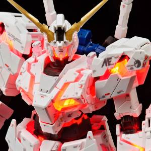 Gundam Unicorn - RX-0 Unicorn Gundam Destroy Mode, ver.TWC Lighting Model Limited Edition Plastic Model [1/144 RG / Bandai]
