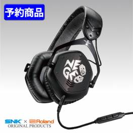 SNK × Roland V-MODA NEOGEO CROSSFADE LP2 Special Headphone [Hi-tech]