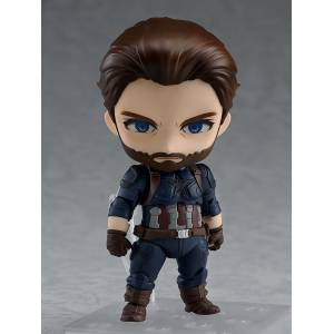 FREE SHIPPING - Avengers - Captain America Infinity Edition Reissue [Nendoroid 923]