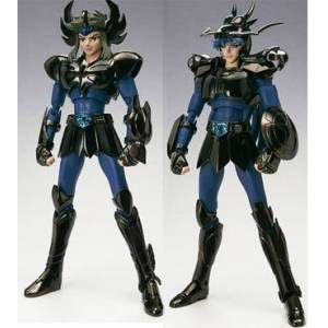 Saint Seiya Myth Cloth - Black Swan & Black Dragon (Tamashii Limited) [Bandai] [Used]