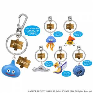 Dragon Quest - Monsters Key Holder Set of 12 [Goods]