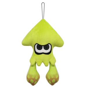 Splatoon 2 - All Star Collection Plush SP16 Squid / Neon Yellow (S) [Goods]