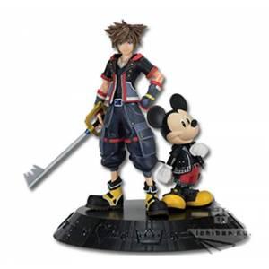 Ichiban Kuji - Kingdom Hearts A Prize - Sora & King Mickey [Banpresto] [Used]