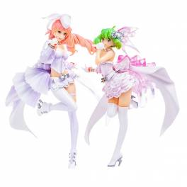 Movie Macross Frontier The Wings of Goodbye - Set -blanches- [PLAMAX MF-33]